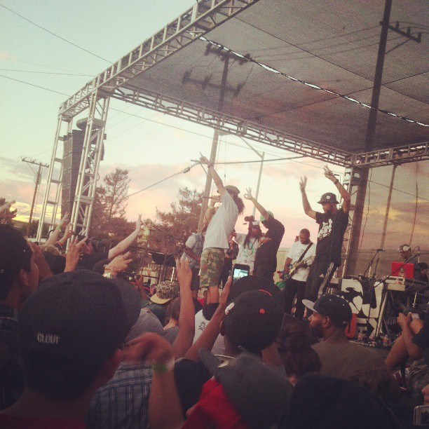 kickin it with the mighty Souls of Mischief on Hiero Day