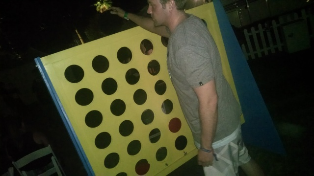 Connect 4 - big time!