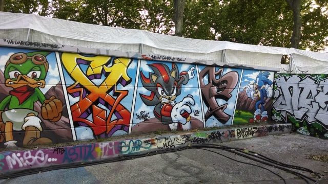 More graffiti featuring some of my favorite video game characters