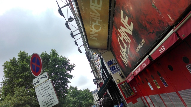 La Machine, where we played in Paris
