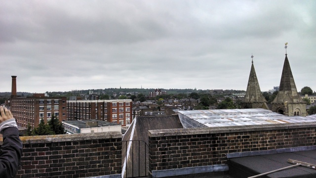 Rooftop view in London