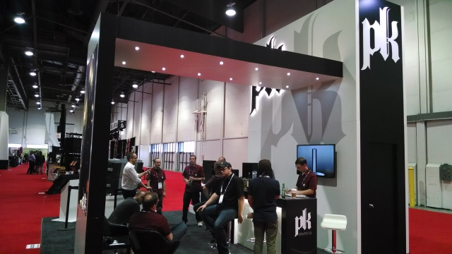 The PK Fam at Infocomm - where we unveiled our groundbreaking new line array, Trinity!