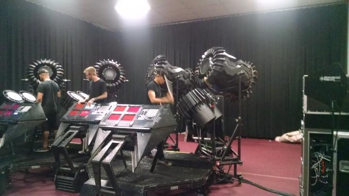 Phase 1 rehearsal studio